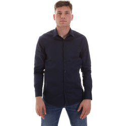 Textiel Heren Overhemden lange mouwen Sseinse CE506SS Blauw