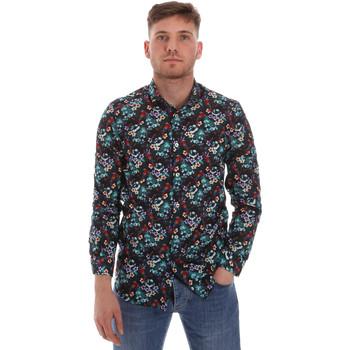 Textiel Heren Overhemden lange mouwen Sseinse CE509SS Blauw