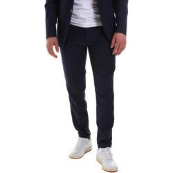Textiel Heren Anzughosen Sseinse PCE580SS Bleu