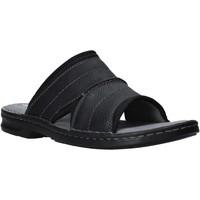 Schoenen Heren Leren slippers Clarks 26139868 Zwart