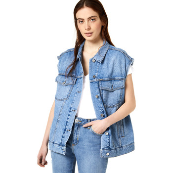 Textiel Dames Spijker jassen Liu Jo FA0344 D4470 Bleu