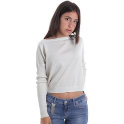 Textiel Dames Truien Liu Jo MA0035 MA32H Blanc