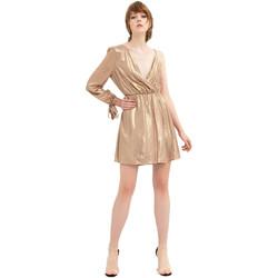 Textiel Dames Korte jurken Fracomina FR20SP453 Goud