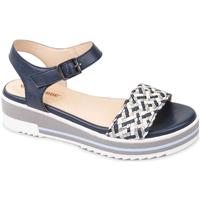 Schoenen Dames Sandalen / Open schoenen Valleverde 15150 Bleu