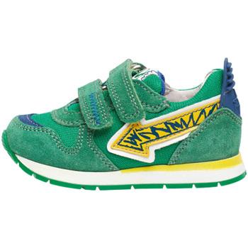 Schoenen Kinderen Lage sneakers Naturino 2014913 01 Groen