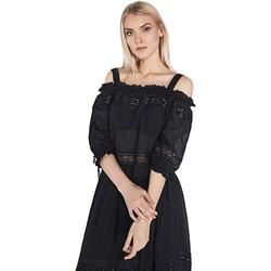 Textiel Dames Tops / Blousjes Gaudi 811FD45010 Zwart