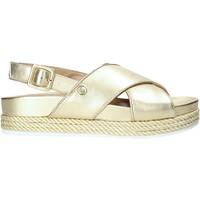Schoenen Dames Sandalen / Open schoenen Liu Jo SA0087P0291 Goud