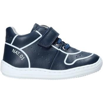 Schoenen Kinderen Hoge sneakers Naturino 2013463 01 Blauw