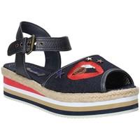 Schoenen Dames Sandalen / Open schoenen Wrangler WL181651 Blauw
