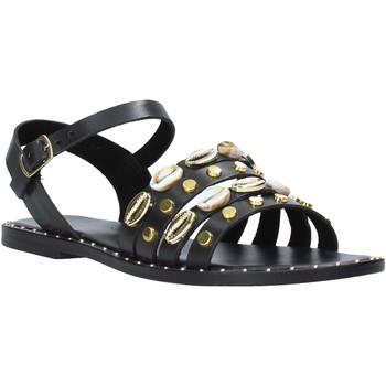Schoenen Dames Sandalen / Open schoenen Café Noir GB174 Zwart