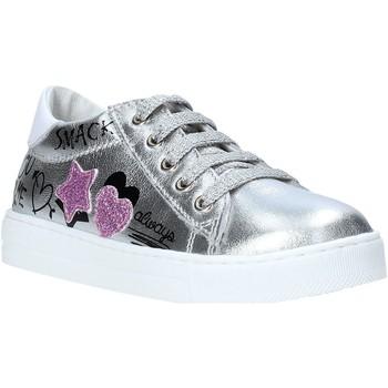 Schoenen Meisjes Lage sneakers Falcotto 2014628 02 Zilver