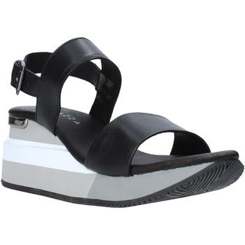 Schoenen Dames Sandalen / Open schoenen Apepazza S0HIGHSEA01/LEA Zwart