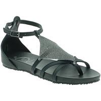 Schoenen Dames Sandalen / Open schoenen 18+ 6108 Zwart