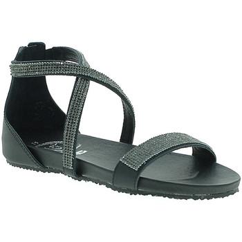 Schoenen Dames Sandalen / Open schoenen 18+ 6141 Zwart