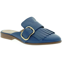 Schoenen Dames Klompen Mally 6116 Blauw