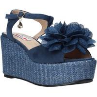 Schoenen Dames Sandalen / Open schoenen Love To Love GIN579 Blauw