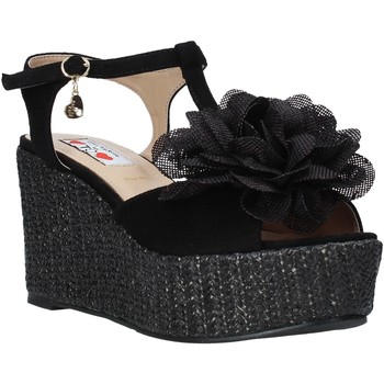 Schoenen Dames Sandalen / Open schoenen Love To Love GIN583 Zwart