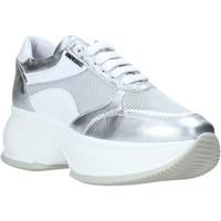 Schoenen Dames Lage sneakers Exton 1575 Zilver