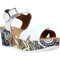Schoenen Dames Sandalen / Open schoenen Grace Shoes 12 Wit