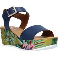 Schoenen Dames Sandalen / Open schoenen Grace Shoes 01 Blauw
