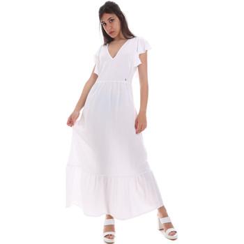 Textiel Dames Lange jurken Gaudi 011BD15039 Wit