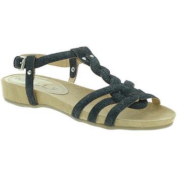 Schoenen Dames Sandalen / Open schoenen Mally 3828GL Zwart