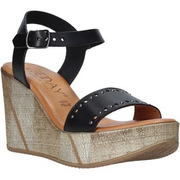 Schoenen Dames Sandalen / Open schoenen Jeiday EVA-Z80M Zwart