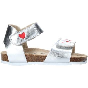 Schoenen Meisjes Sandalen / Open schoenen Grunland SB1546 Zilver