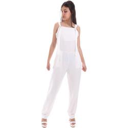 Textiel Dames Jumpsuites / Tuinbroeken Gaudi 011BD25049 Wit