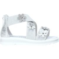 Schoenen Meisjes Sandalen / Open schoenen NeroGiardini E031604F Zilver