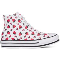 Schoenen Meisjes Hoge sneakers Converse 668016C Wit