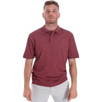 Textiel Heren Polo's korte mouwen Les Copains 9U9016 Rood