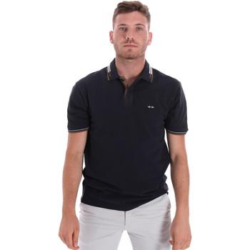 Textiel Heren Polo's korte mouwen Les Copains 9U9021 Blauw