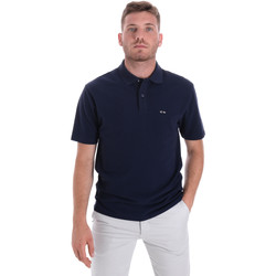 Textiel Heren Polo's korte mouwen Les Copains 9U9023 Blauw