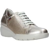 Schoenen Dames Lage sneakers CallagHan 19201 Goud