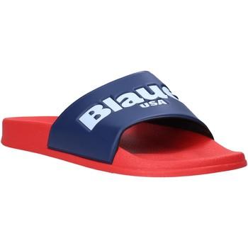 Schoenen Heren Slippers Blauer S0BAY02/PUC Rood