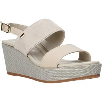 Schoenen Dames Sandalen / Open schoenen Valleverde 32212 Beige
