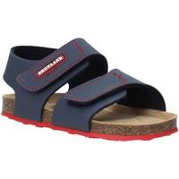 Schoenen Kinderen Sandalen / Open schoenen Grunland SB0802 Blauw