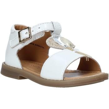 Schoenen Meisjes Sandalen / Open schoenen Grunland PS0063 Wit