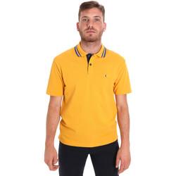 Textiel Heren Polo's korte mouwen Les Copains 9U9021 Geel