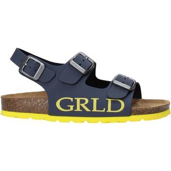 Schoenen Kinderen Sandalen / Open schoenen Grunland SB1516 Blauw