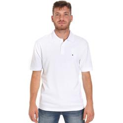 Textiel Heren Polo's korte mouwen Les Copains 9U9015 Wit