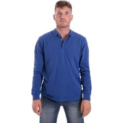 Textiel Heren Polo's lange mouwen Navigare NV82109 Blauw