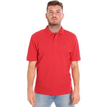 Textiel Heren Polo's korte mouwen Les Copains 9U9015 Rood