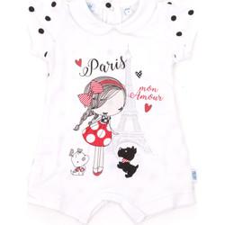 Textiel Kinderen Jumpsuites / Tuinbroeken Melby 20P7021 Wit