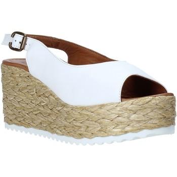 Schoenen Dames Sandalen / Open schoenen Bueno Shoes N3603 Wit