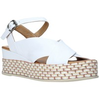 Schoenen Dames Sandalen / Open schoenen Bueno Shoes Q5901 Wit