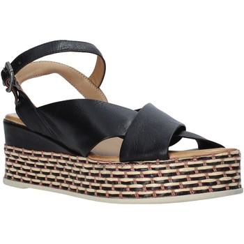 Schoenen Dames Sandalen / Open schoenen Bueno Shoes Q5901 Zwart
