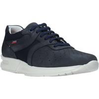 Schoenen Heren Lage sneakers CallagHan 91313 Blauw