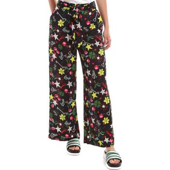 Textiel Dames Losse broeken / Harembroeken Liu Jo WA0058 T9147 Noir